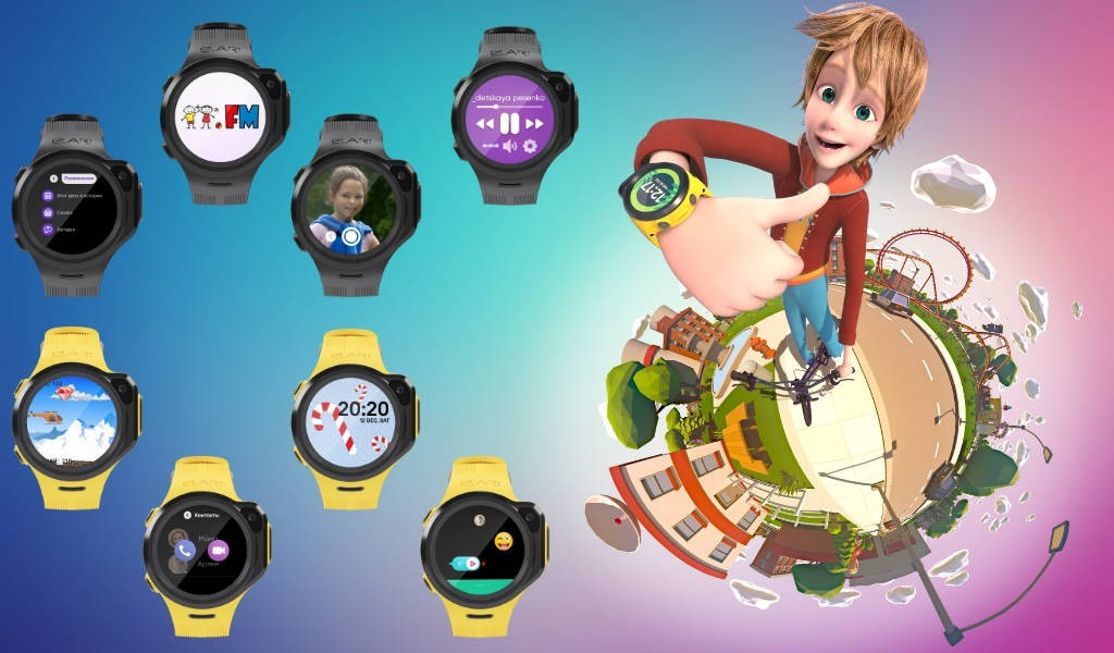 Купить Часы Elari KidPhone 4GR