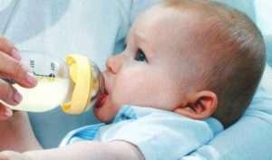 Аллергия на молочную смесь